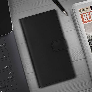 Avis Avizar Etui folio Noir Cuir véritable pour Samsung Galaxy Note 10