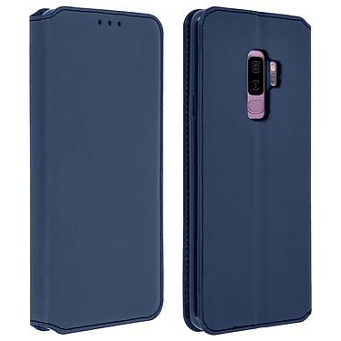 Avizar Etui folio Bleu Nuit pour Samsung Galaxy S9 Plus pas cher