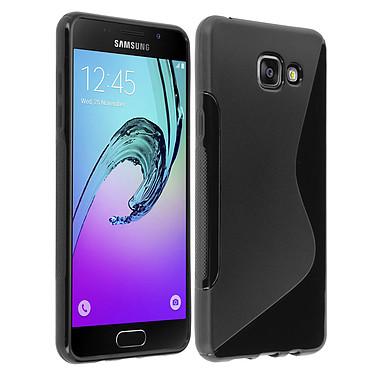 Avizar Coque Noir pour Samsung Galaxy A5 2016 pas cher