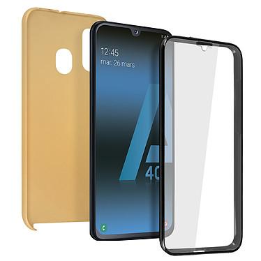 Avizar Coque Dorée pour Samsung Galaxy A40 Coque Dorée Samsung Galaxy A40