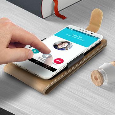 Acheter Avizar Etui à clapet Beige pour Compatibles avec Smartphones de 5,5 à 6,0 pouces