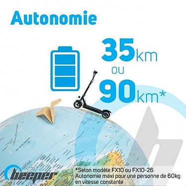 BEEPER Trottinette électrique MAX (FX10-G2-8) pas cher