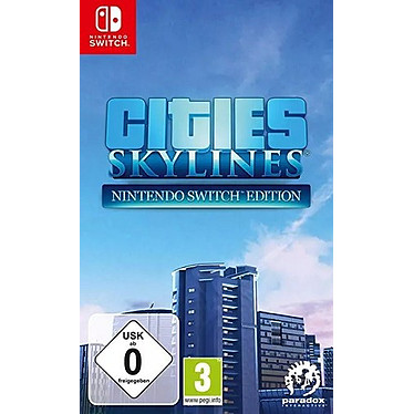 Cities Skylines (SWITCH) Jeu SWITCH Gestion 3 ans et plus