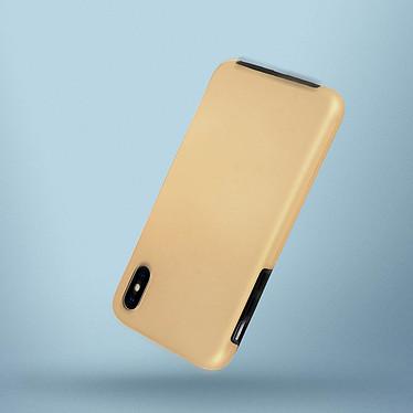 Avizar Coque Dorée pour Apple iPhone X , Apple iPhone XS pas cher