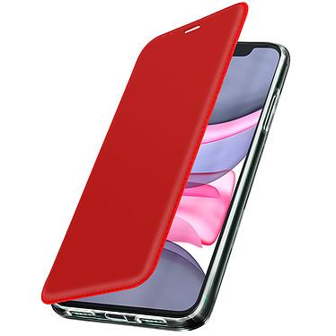 Avizar Etui folio Rouge pour Apple iPhone 11 Etui folio Rouge Apple iPhone 11
