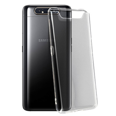 Avizar Coque Transparent pour Samsung Galaxy A80 pas cher
