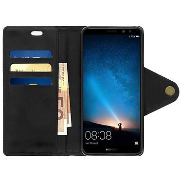 Acheter Avizar Etui folio Noir Éco-cuir pour Huawei Mate 10 Lite