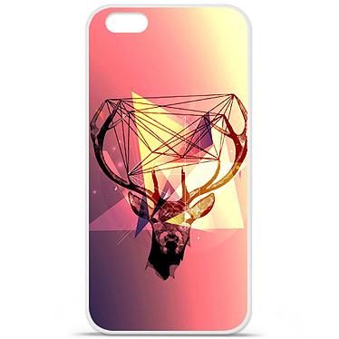 1001 Coques Coque silicone gel Apple IPhone 7 Plus motif Cerf Hipster Coque silicone gel Apple IPhone 7 Plus motif Cerf Hipster