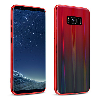 Avizar Coque Rouge Collection Aurora pour Samsung Galaxy S8 Coque Rouge collection Aurora Samsung Galaxy S8