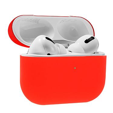 Avizar Coque Rouge pour Apple AirPods Pro pas cher