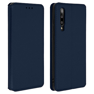 Avizar Etui folio Bleu Nuit pour Huawei P30 Etui folio Bleu Nuit Huawei P30