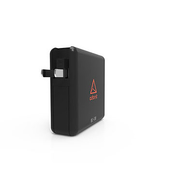 ADONIT  TravelCube Pro Chargeur de voyage 4-en-1 avec batterie intégrée