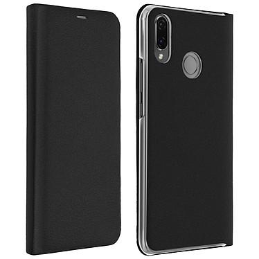 Avizar Etui folio Noir pour Huawei P Smart Plus Etui folio Noir Huawei P Smart Plus