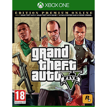 GTA V Premium Online Edition (XBOX ONE) Jeu XBOX ONE Action-Aventure 18 ans et plus