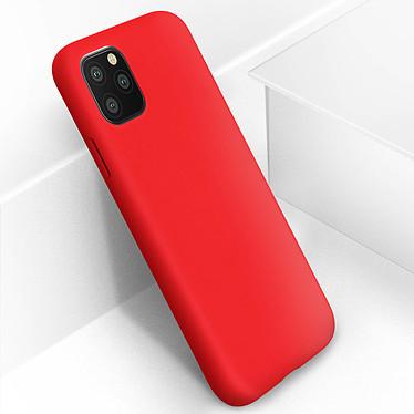 Avizar Coque Rouge Semi-Rigide pour Apple iPhone 11 Pro pas cher