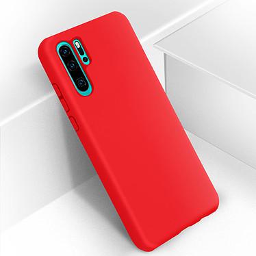 Avizar Coque Rouge Semi-Rigide pour Huawei P30 Pro pas cher