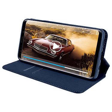 Avis Avizar Etui folio Bleu Nuit pour Samsung Galaxy S9 Plus