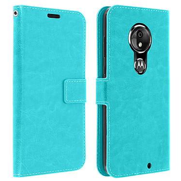 Avizar Etui folio Turquoise pour Motorola Moto G7 , Motorola Moto G7 Plus Etui folio Turquoise Motorola Moto G7 , Motorola Moto G7 Plus