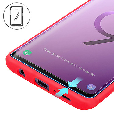 Avis Avizar Film verre trempé Transparent pour Samsung Galaxy S9
