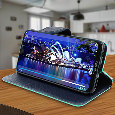 Avis Avizar Etui folio Vert pour Motorola Moto G7 , Motorola Moto G7 Plus