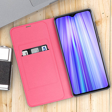 Acheter Avizar Etui folio Rose pour Xiaomi Redmi Note 8 Pro