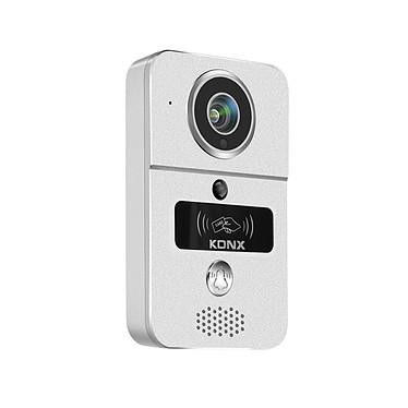 Konx Portier Vidéo 720p Wi-fi, Détecteur De Mouvement, Lecteur Rfid KON_KW02C Portier Wi-Fi full duplex audio et vidéo, avec lecteur RFID et nombreuses possibilités.