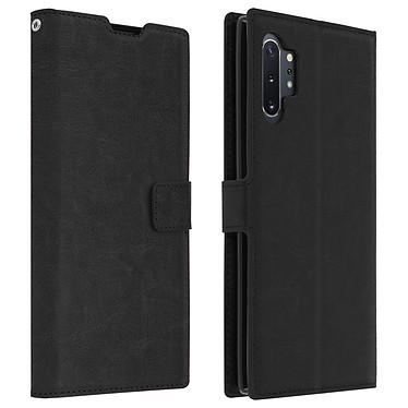 Avizar Etui folio Noir pour Samsung Galaxy Note 10 Plus Etui folio Noir Samsung Galaxy Note 10 Plus