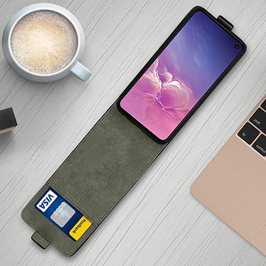 Avis Avizar Etui à clapet Noir pour Samsung Galaxy S10e