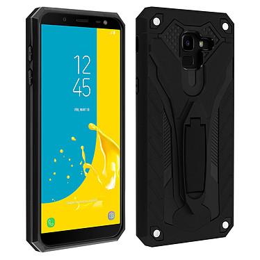 Avizar Coque Noir Série Phantom pour Samsung Galaxy J6 Coque Noir série Phantom Samsung Galaxy J6
