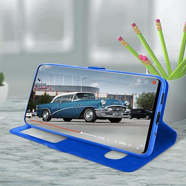 Avis Avizar Etui folio Bleu pour Samsung Galaxy S20 Plus