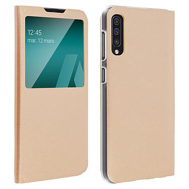 Avizar Etui folio Dorée pour Samsung Galaxy A50 , Samsung Galaxy A30s Etui folio Dorée Samsung Galaxy A50 , Samsung Galaxy A30s