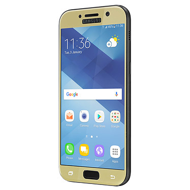 Avis Avizar Film verre trempé Dorée pour Samsung Galaxy A5 2017