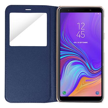 Avis Avizar Etui folio Bleu Nuit pour Samsung Galaxy A7 2018