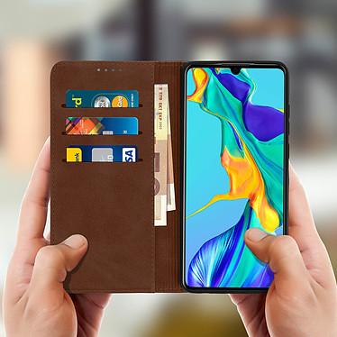 Acheter Avizar Etui folio Marron Vieilli pour Huawei P30