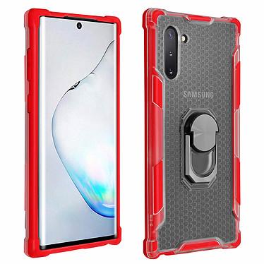 Avizar Coque Rouge Contours Bumper pour Samsung Galaxy Note 10 Coque Rouge contours bumper Samsung Galaxy Note 10