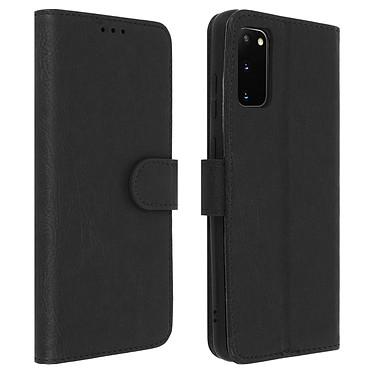 Avizar Etui folio Noir pour Samsung Galaxy S20 Etui folio Noir Samsung Galaxy S20
