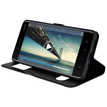Avis Avizar Etui folio Noir pour Nokia 8