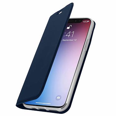 Avizar Etui folio Bleu Nuit Éco-cuir pour Apple iPhone 11 Pro pas cher