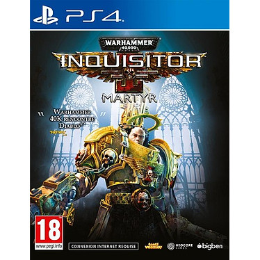 Warhammer 40.000 Inquisitor Martyr (PS4) Jeu PS4 Action-Aventure 18 ans et plus