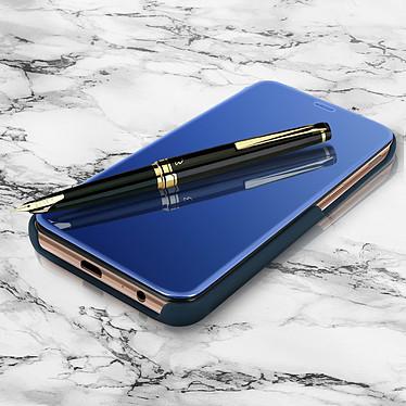 Avizar Etui folio Bleu Nuit pour Samsung Galaxy J4 Plus pas cher