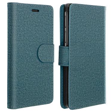 Avizar Etui folio Bleu pour Tous les smartphones compris entre 4,3 et 4,8 pouces Etui folio Bleu Tous les smartphones compris entre 4,3 et 4,8 pouces