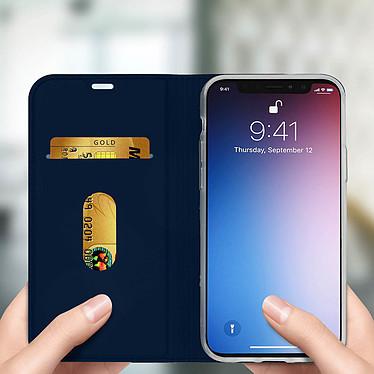 Avis Avizar Etui folio Bleu Nuit Éco-cuir pour Apple iPhone 11 Pro