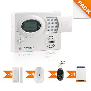Atlantic'S Pack alarme sans fil Kit 9 Pack alarme sans fil Kit 9