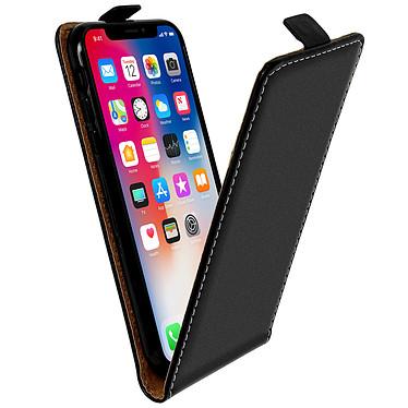 Avizar Etui à clapet Noir pour Apple iPhone X , Apple iPhone XS Etui à clapet Noir Apple iPhone X , Apple iPhone XS