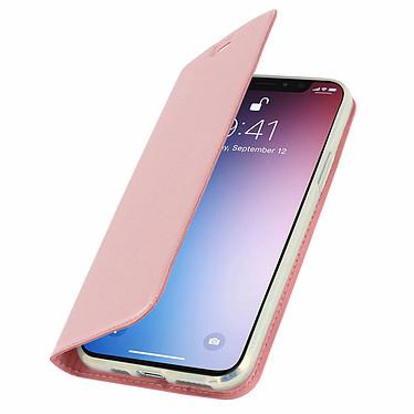 Avizar Etui folio Rose Champagne Éco-cuir pour Apple iPhone 11 Pro Max pas cher