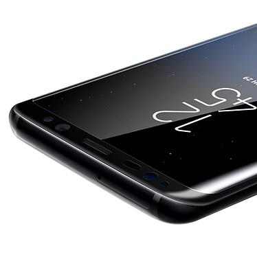 Acheter Avizar Film verre trempé Noir pour Samsung Galaxy S8 Plus