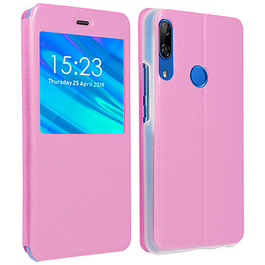 Avizar Etui folio Rose pour Huawei P Smart Z , Honor 9X Etui folio Rose Huawei P Smart Z , Honor 9X