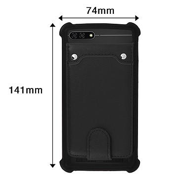 Avis Avizar Coque Noir pour Compatibles avec Smartphones de 5,0 à 5,3 pouces