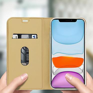 Avis Avizar Etui folio Dorée Éco-cuir pour Apple iPhone 11