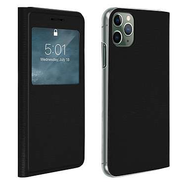 Avizar Etui folio Noir pour Apple iPhone 11 Pro Max Etui folio Noir Apple iPhone 11 Pro Max